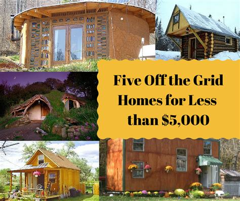 tiny houses for sale 5000 five the grid houses built for less than 5 000 each