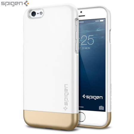 Casing Iphone 6 Armored Satin Premium spigen style armor iphone 6 shell white mobilezap australia