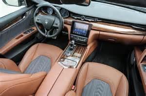 White Maserati Interior New Maserati Quattroporte Diesel 2016 Review Pictures