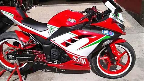Lu 250 Fi kumpulan modifikasi motor 250 cc terbaru