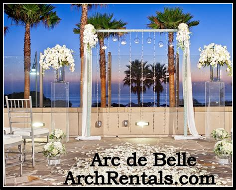 Wedding Arch Rental Near Me by Modern Wedding Arch Altar And Column Rentals In Los