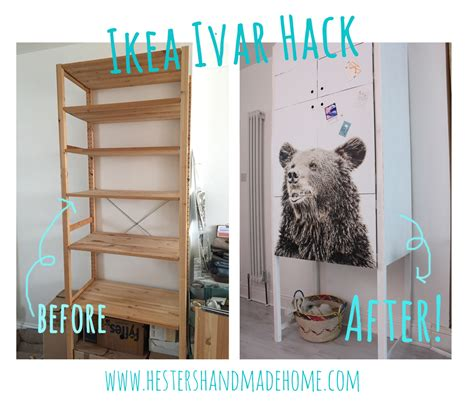 Fireplace Bookcase Ideas Hester S House Updates Ikea Ivar Hack Hester S Handmade