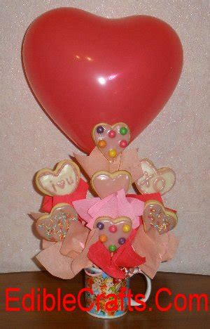edible valentines day gifts valentines day gifts how to make a cookie bouquet