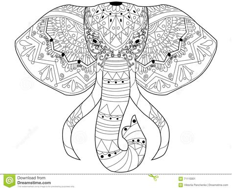 stress relief coloring pages elephant elephant adult coloring stress relief coloring pages