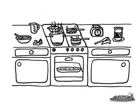 dibujos de cocina para colorear cocina 13 edificios y arquitectura p 225 ginas para colorear