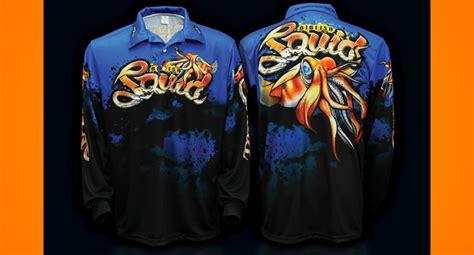 Afta Apparel T Shirt bigfish squid shirt tackle junkietackle junkie