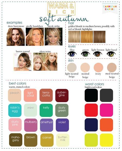 warm autumn color palette 17 best images about color analysis soft autumn light or