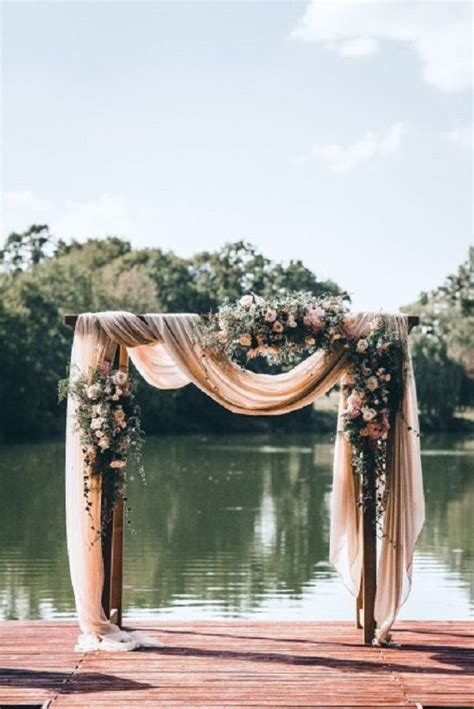 best fabric for wedding draping best 25 wedding arches ideas on pinterest wedding altar