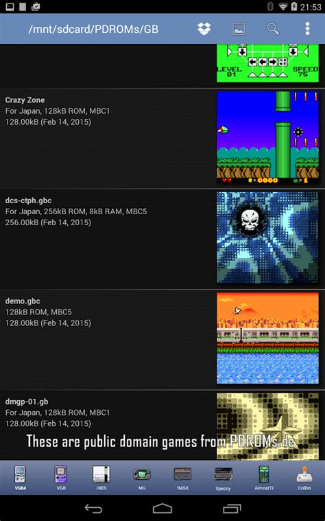 gbc roms for android vgb gameboy gbc emulator android apps on play