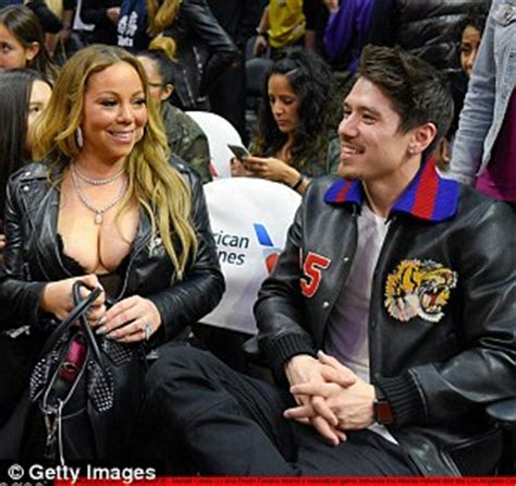 no more waiting for the occassional nip slips and panty upskirts mariah carey and bryan tanaka get sushi before lakers game
