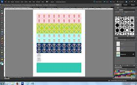 design calendar using photoshop planner stickers printable planner stickers and planners