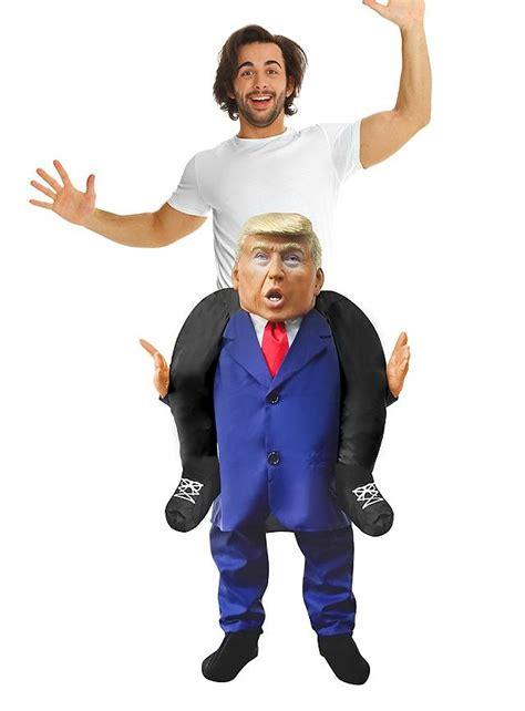 Home Halloween Decorations Carry Me Costume Trump Maskworld Com