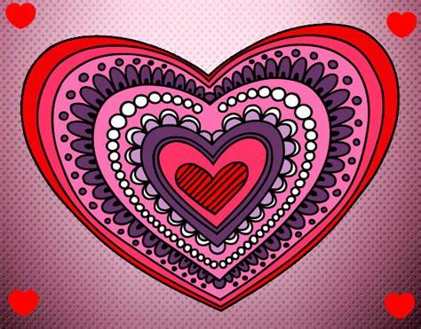 imagenes mandalas de corazones imagenes de corazones en mandalas de dibujo imagui