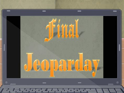 How To Make A Jeopardy Game On Powerpoint With Pictures Make A Jeopardy On Powerpoint
