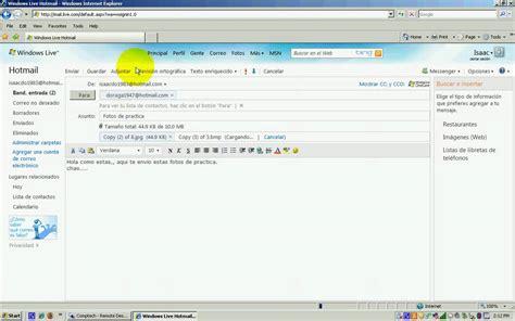 imagenes hotmail fotos por correo electronico hotmail youtube