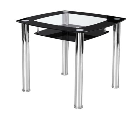 jayden black round glass kitchen table