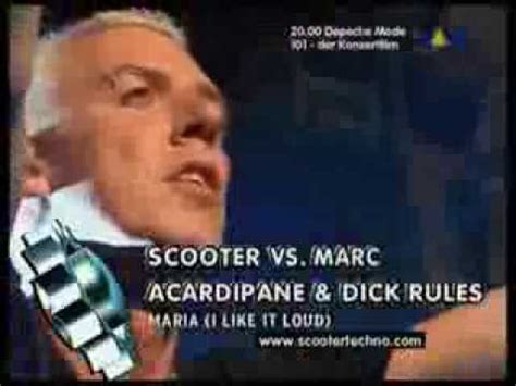 scooter maria scooter maria i like it loud viva tv 2003 youtube