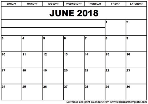 printable calendar 2018 with holidays june 2018 calendar printable with holidays monthly