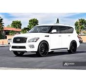 Infiniti QX80 Custom Wheels AC 313 26x100 ET  Tire Size