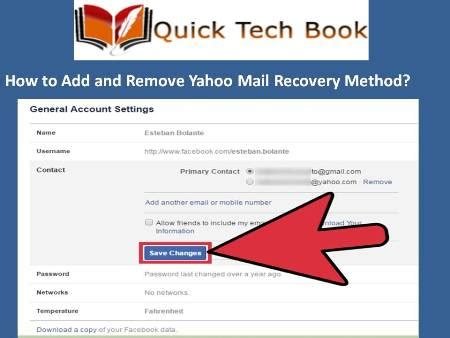 yahoo email recovery phone number how to add and remove yahoo mail recovery phone number and