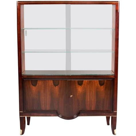 andre arbus cabinet with vitrine for sale at 1stdibs