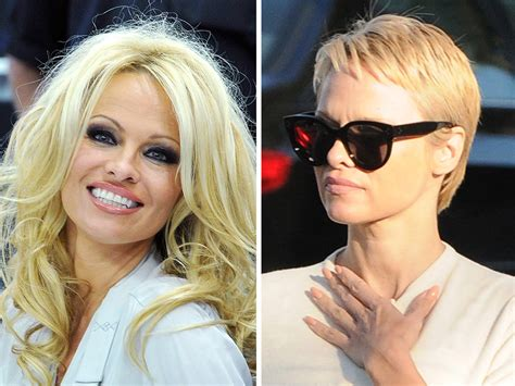 Pamela Anderson chops 'Baywatch' hair into pixie cut