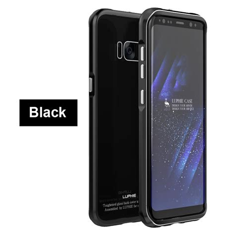 Samsung Galaxy S8 Casing Sarung Bumper Back Cover Soft Bagus for samsung galaxy note 8 s8 luphie aluminum metal bumper back cover ebay