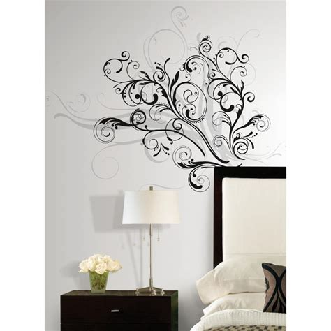 peelable wall stickers forever twined peel and stick wall decal