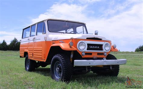 1967 Toyota Land Cruiser 1967 Toyota Land Cruiser Fj45lv Low Reserve On A