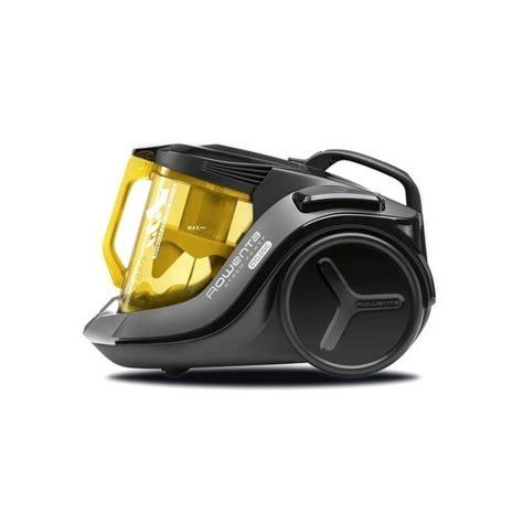cyclonic vacuum cleaner rowenta ro6984 2 5 l 750w 75 db a black yellow vacuum cleaners