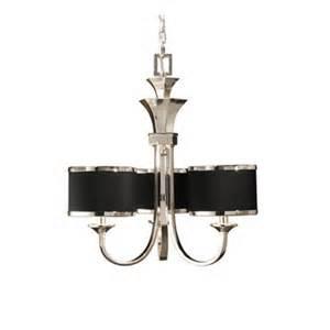 tuxedo chandelier tuxedo 6 light single shade chandelier by uttermost 21130