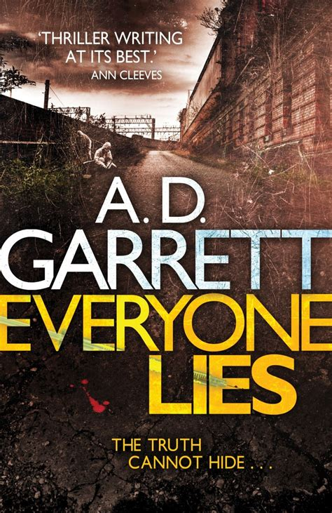 everybody lies books everyone lies by author a d garrett
