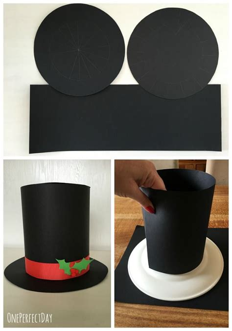 diy kids top hat mad hatters hat shoppe craft snowman costume