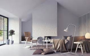 Home Interior Wall Pictures White Exposed Brick Interior Wall Render Interior Design