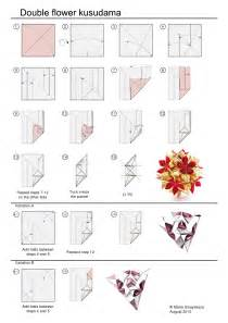 Origami Kusudama Diagrams - kusudamaaddicts flower kusudama sinayskaya