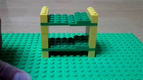 tutorial lego bed tutorial how to make a lego bunk bed lego bedroom serie