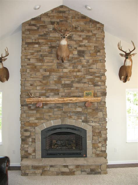 stone fireplace photos a to z photo gallery cultured stone hunter s fireplace