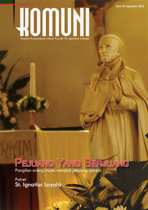 desain cover majalah desain sul majalah komuni on behance