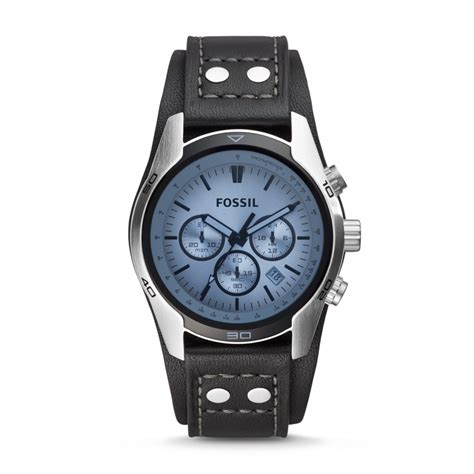 Fossil Chronograph Ch2564 fossil coachman chronograph leather black ch2564