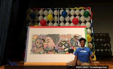 doodle cheats winners 15 year akilah wows us with doodle on race