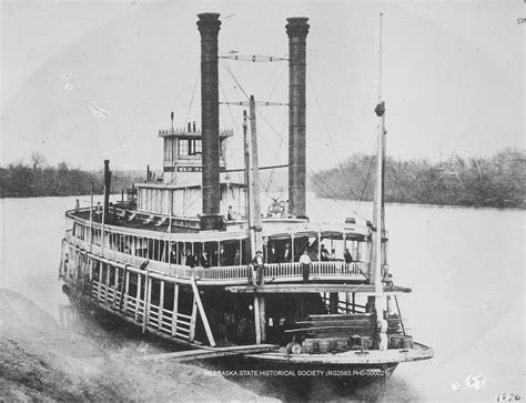 steam boat uk image of the steamboat quot red cloud quot on the missouri