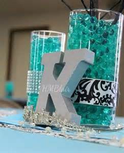 sweet 16 table centerpiece ideas 25 best ideas about turquoise centerpieces on