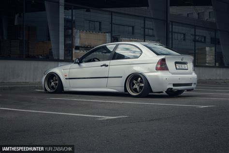 Modified Bmw Compact E46 by A Slammed Bmw Compact From Belarus Speedhunters
