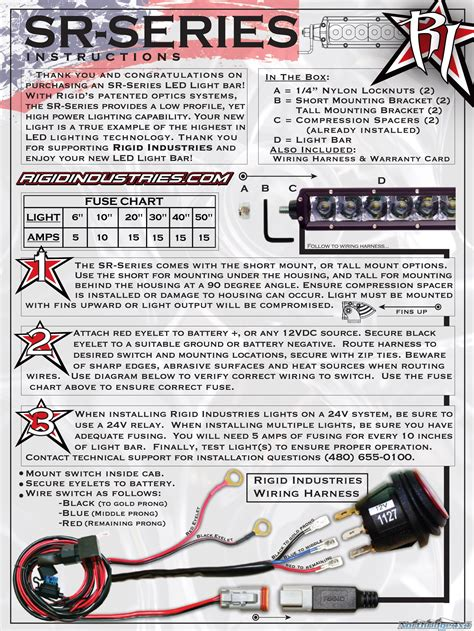 rigid light wiring diagram wiring diagram with description