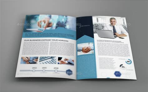 company profile brochure bi fold template vol 42 by