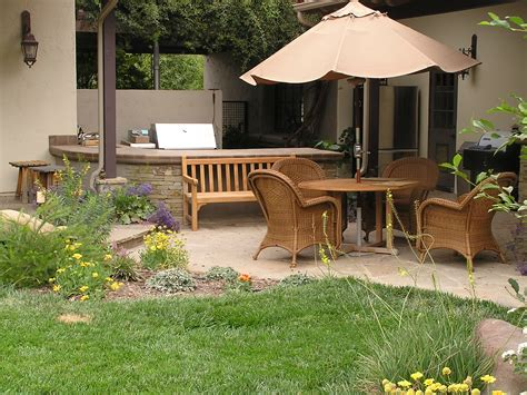 Ideas for designing the outdoor patio