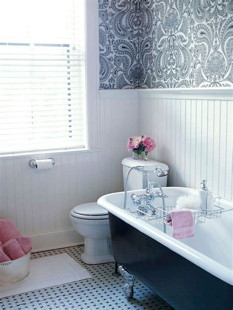 bathroom ideas with beadboard white beadboard bathroom transitional bathroom bhg