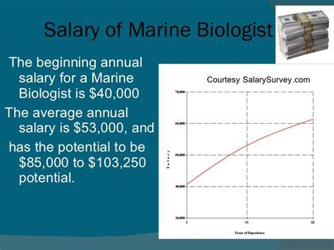 marine biologist career outlook marine world