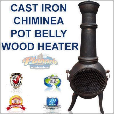 Pot Belly Chiminea The World S Catalog Of Ideas