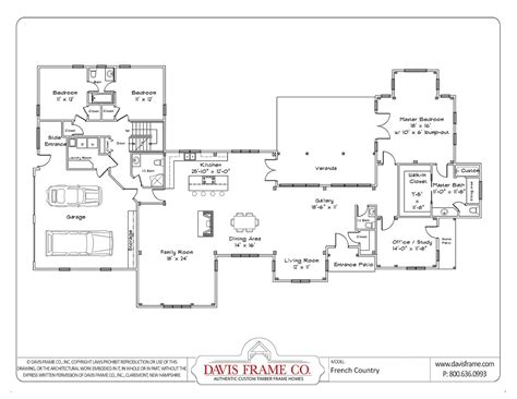 single floor plan single story house plans with open floor plan cottage